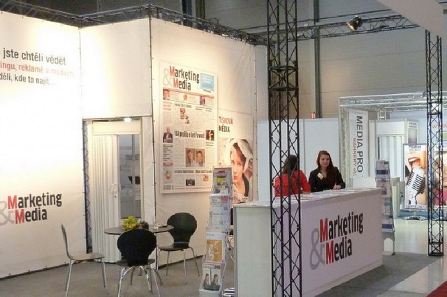 Lighttruss Messestand