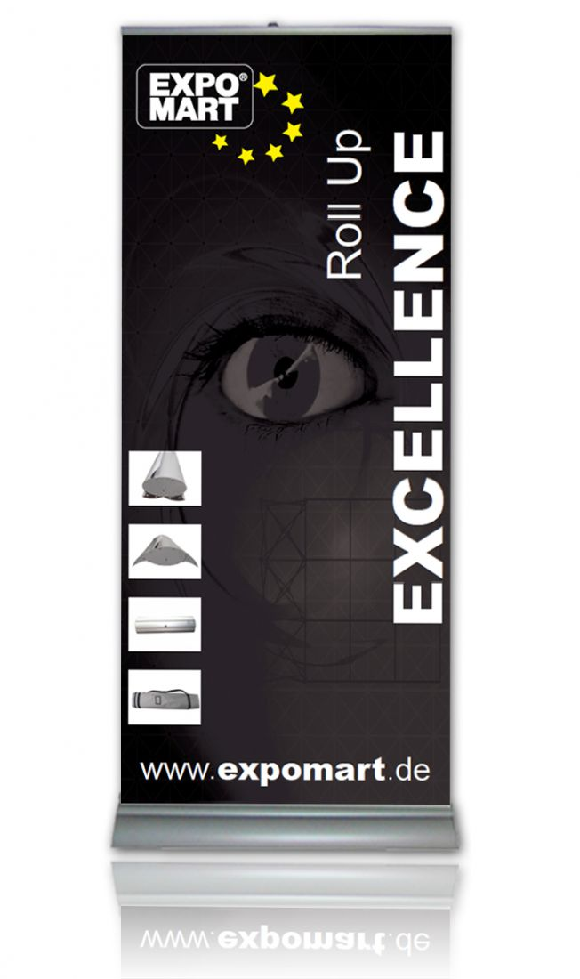 Roll Up Banner Carbon S Produktfoto